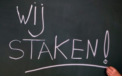 Let op: staking 5 oktober
